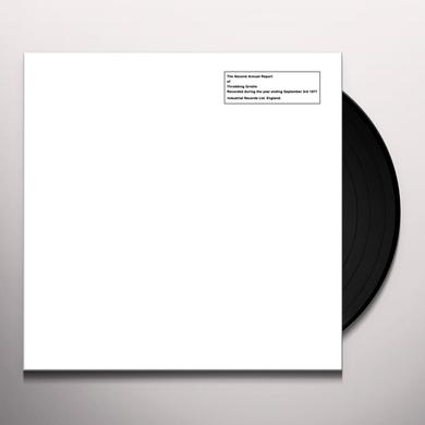 SECOND ANNUAL REPORT OF THROBBING GRISTLE Vinyl Record