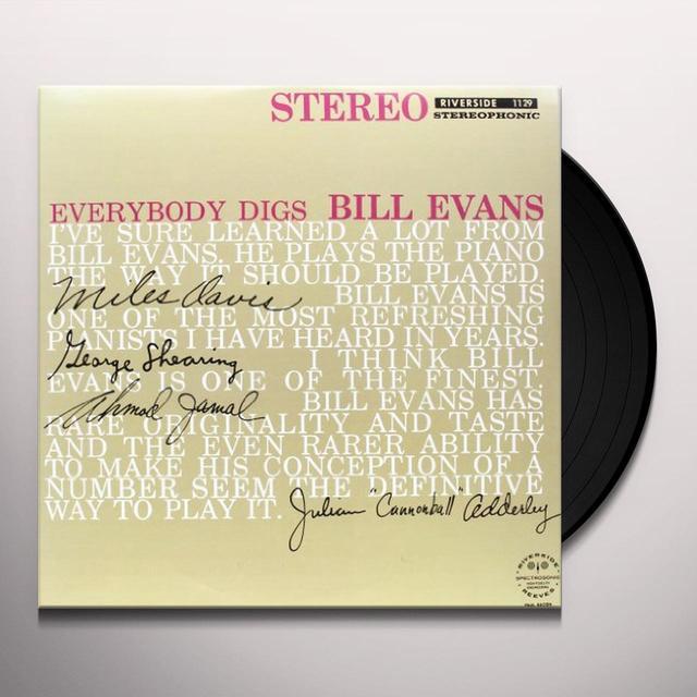 EVERYBODY DIGS BILL EVANS Vinyl Record