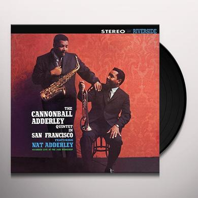 Cannonball Adderley IN SAN FRANCISCO Vinyl Record