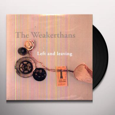 The Weakerthans LEFT & LEAVING Vinyl Record