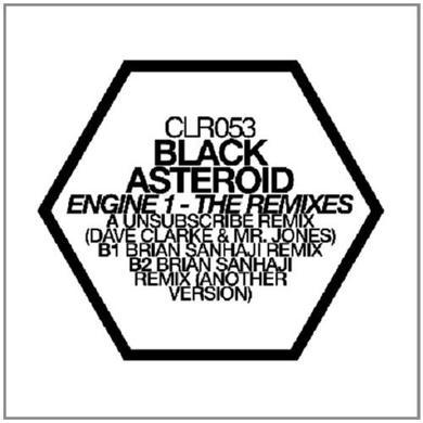 Black Asteroid ENGINE 1: THE REMIXES Vinyl Record