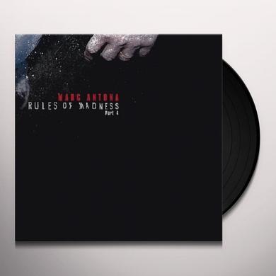 Marc Antona RULES OF MADNESS 4 (EP) Vinyl Record