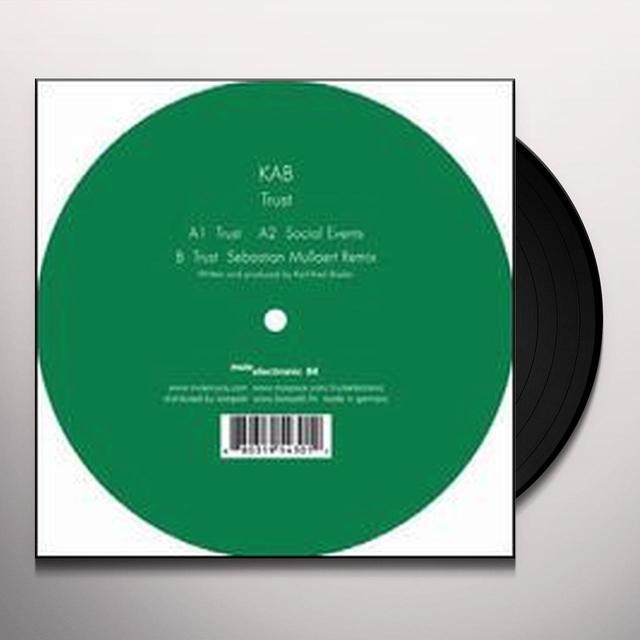 Kab TRUST (EP) Vinyl Record