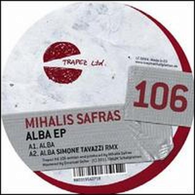 Mihalis Safras ALBA Vinyl Record