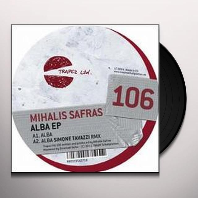 Mihalis Safras ALBA Vinyl Record - Limited Edition