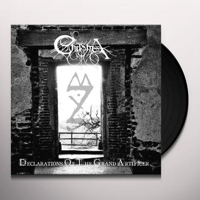Chasma DECLARATIONS OF THE GRAND ARTIFICER Vinyl Record