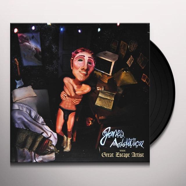Jane's Addiction GREAT ESCAPE ARTIST Vinyl Record