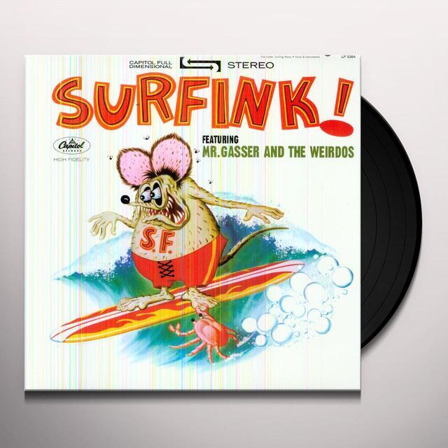 Mr Gasser & The Weirdos SURFINK Vinyl Record - Limited Edition