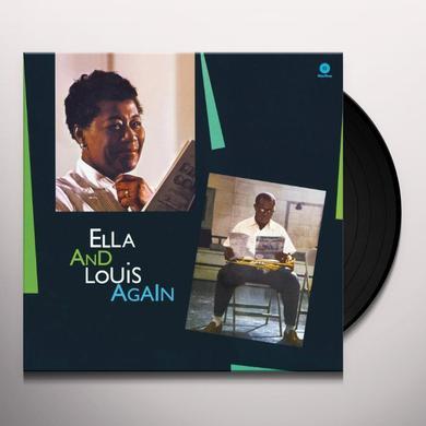 Ella Fitzgerald & Louis Armstrong  ELLA & LOUIS AGAIN Vinyl Record