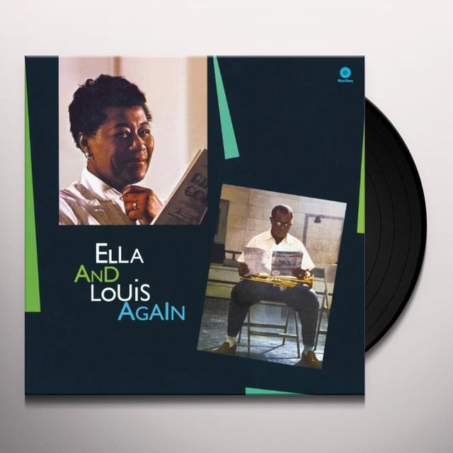Ella Fitzgerald & Louis Armstrong  ELLA & LOUIS AGAIN Vinyl Record - 180 Gram Pressing