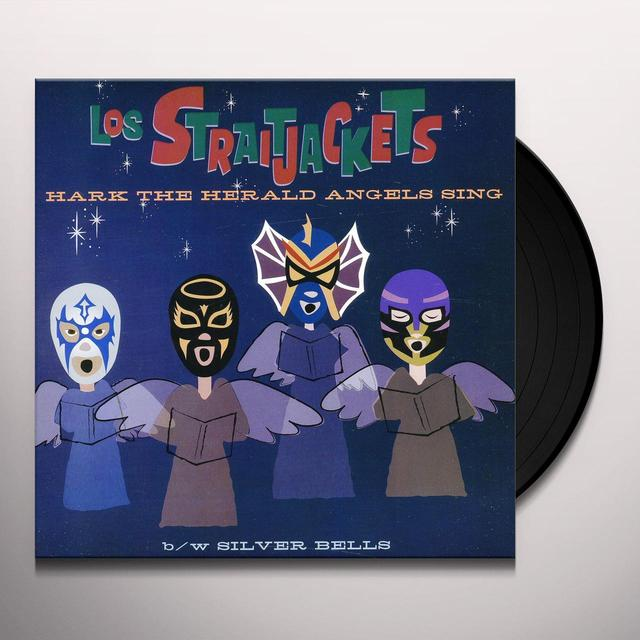 Los Straitjackets HARK THE HERALD ANGELS SING Vinyl Record