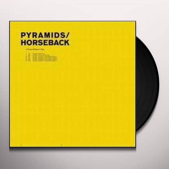 Pyramids / Horseback THRONE WITHOUT A KING Vinyl Record