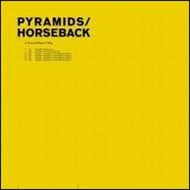 Pyramids / Horseback THRONE WITHOUT A KING Vinyl Record - 180 Gram Pressing