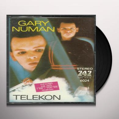 Gary Numan TELEKON Vinyl Record - 180 Gram Pressing, Remastered