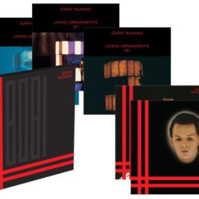 Gary Numan 1980-81 Vinyl Record