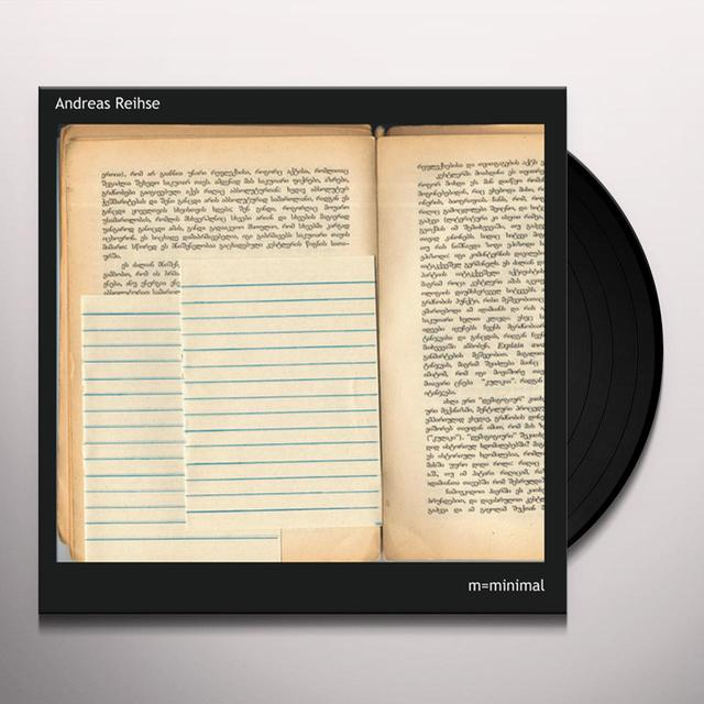 Andreas Reihse ROMANTIC COMEDY Vinyl Record