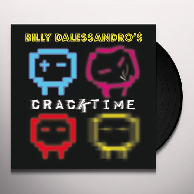 Billy Dalessandro CRACKTIME Vinyl Record