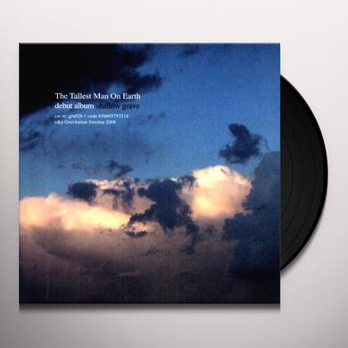 The Tallest Man On Earth SHALLOW GRAVE Vinyl Record