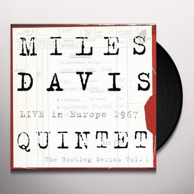Miles Davis LIVE IN EUROPE 1967: BOOTLEG SERIES 1  (BOX) Vinyl Record - Holland Release