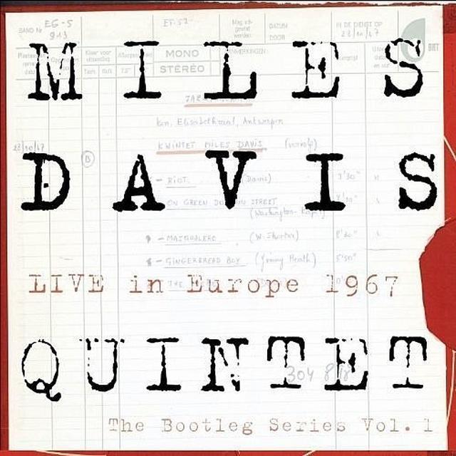 Miles Davis LIVE IN EUROPE 1967: BOOTLEG SERIES 1  (BOX) Vinyl Record - Holland Import