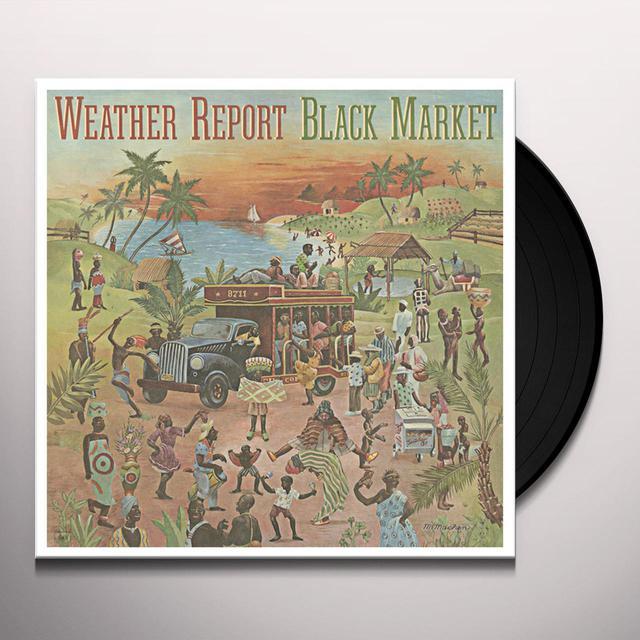 Weather Report BLACK MARKET Vinyl Record