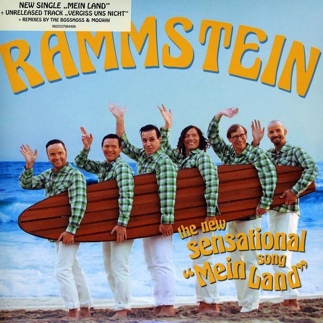 Rammstein MEIN LAND (Vinyl)