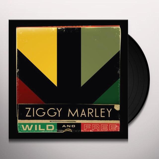 Ziggy Marley WILD & FREE Vinyl Record
