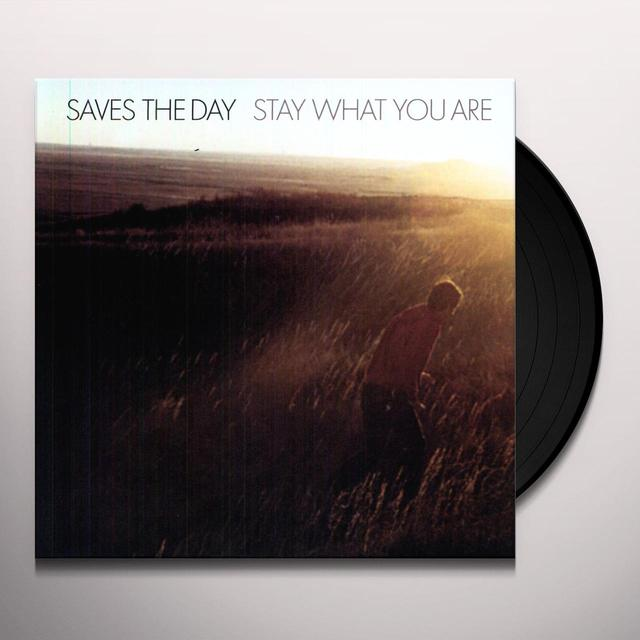 Saves The Day STAY WHAT YOU ARE Vinyl Record