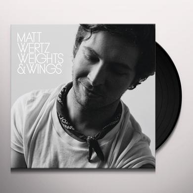 Matt Wertz WEIGHTS & WINGS Vinyl Record - Limited Edition
