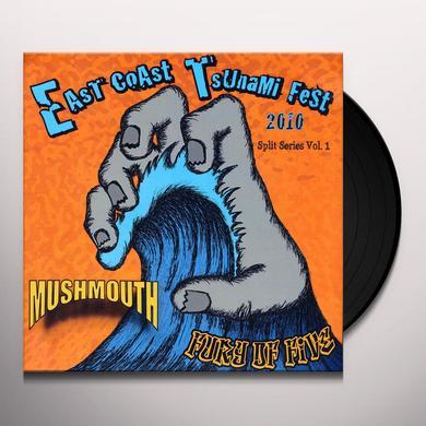 Fury Of Five / Mush Mouth SPLIT 1 Vinyl Record