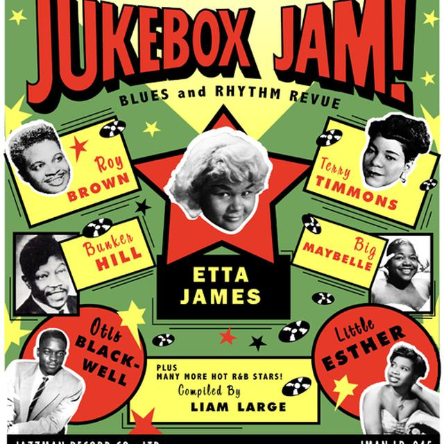 JUKEBOX JAM: BLUES AND RHYTHM REVUE / VARIOUS Vinyl Record