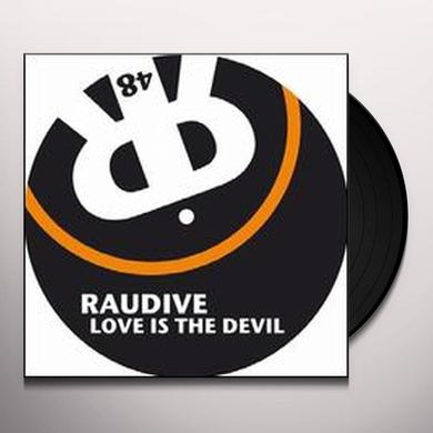 Raudive LOVE IS THE DEVIL (EP) Vinyl Record