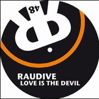 Raudive LOVE IS THE DEVIL Vinyl Record