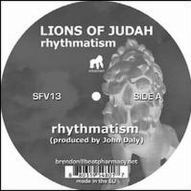 Lions Of Judah RHYTHMATISM (EP) Vinyl Record