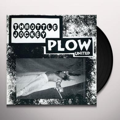 Plow United / Throttle Jockey GRAB A DATE - SPLIT Vinyl Record