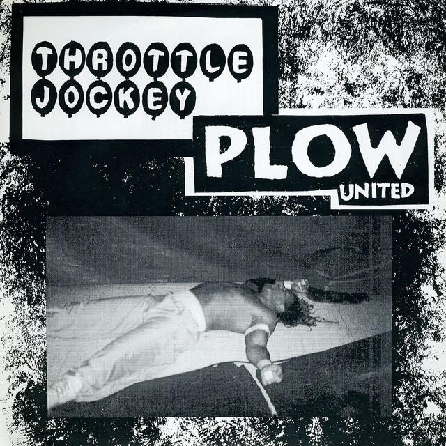 Plow United / Throttle Jockey GRAB A DATE - SPLIT Vinyl Record