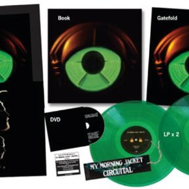 My Morning Jacket CIRCUITA  (W/DVD) (W/BOOK) Vinyl Record - w/CD, Deluxe Edition