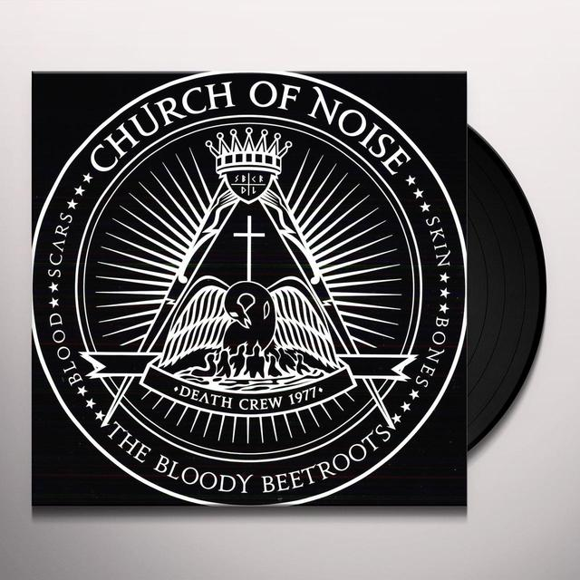 Bloody Beetroots CHURCH OF NOISE Vinyl Record - Limited Edition