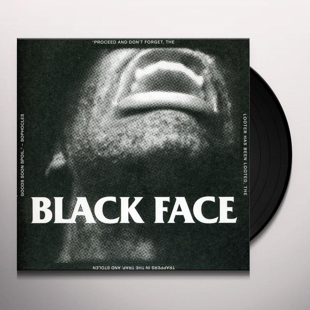 Black Face I WANT TO KILL B/W MONSTER Vinyl Record