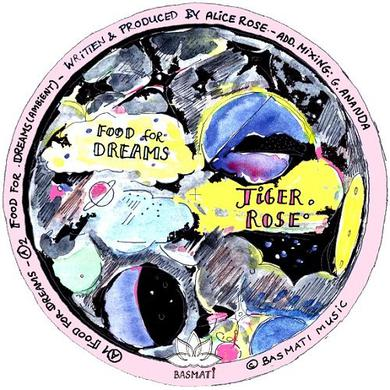 Tiger Rose FOOD FOR DREAMS Vinyl Record
