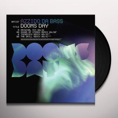 Azzido Da Bass DOOMS DAY Vinyl Record