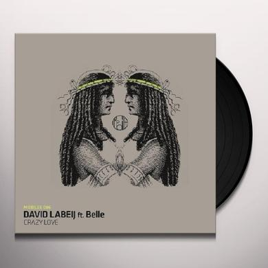 David Labeij CRAZY LOVE (EP) Vinyl Record