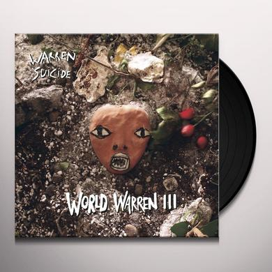 Warren Suicide WORLD WARREN III Vinyl Record