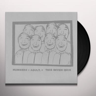 NUMBERS / ADULT Vinyl Record