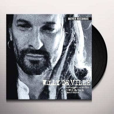 Willy Deville UNPLUGGED IN BERLIN Vinyl Record