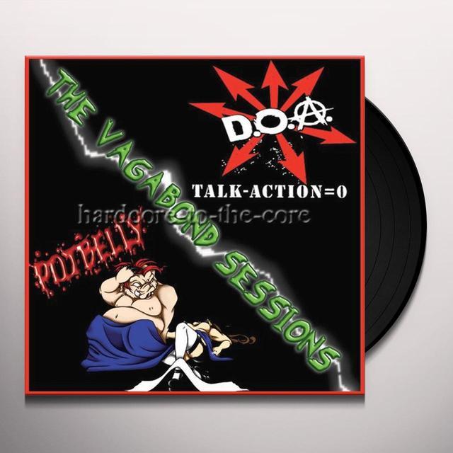 Doa / Potbelly VAGABOND SESSIONS SPLIT Vinyl Record