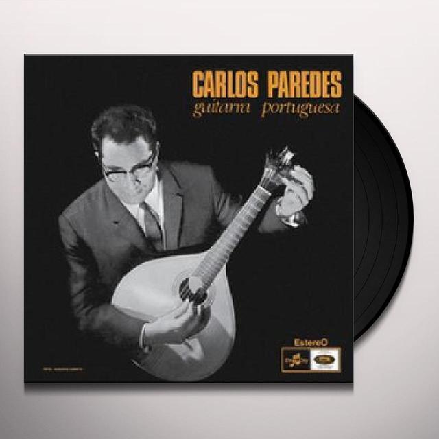 Carlos Paredes GUITARRA PORTUGUESA Vinyl Record