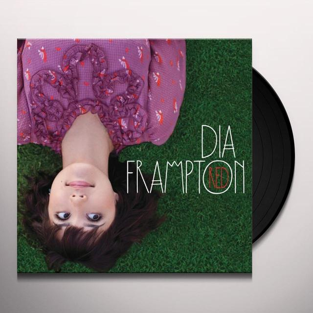 Dia Frampton RED Vinyl Record