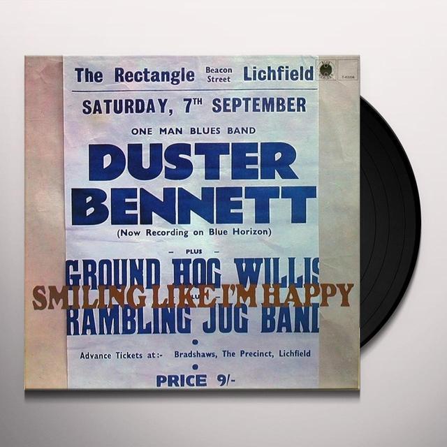 Duster Bennett SMILING LIKE I'M HAPPY Vinyl Record - Remastered