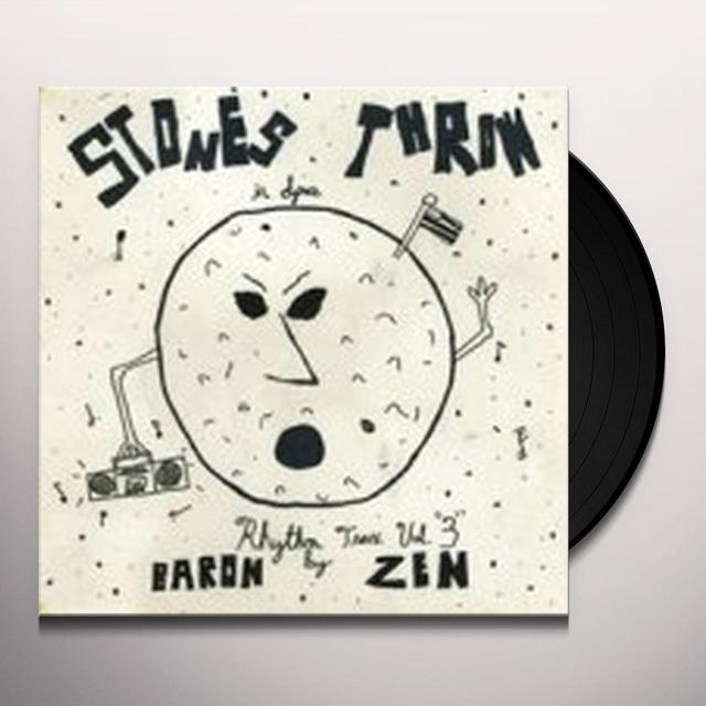 Baron Zen RHYTHM TRAX 3 Vinyl Record